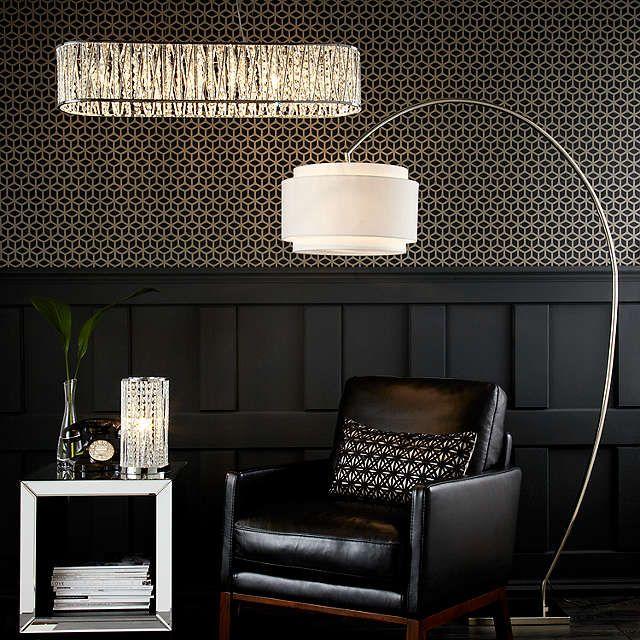 BuyJohn Lewis Evie Curve Floor Lamp Online at johnlewis.com