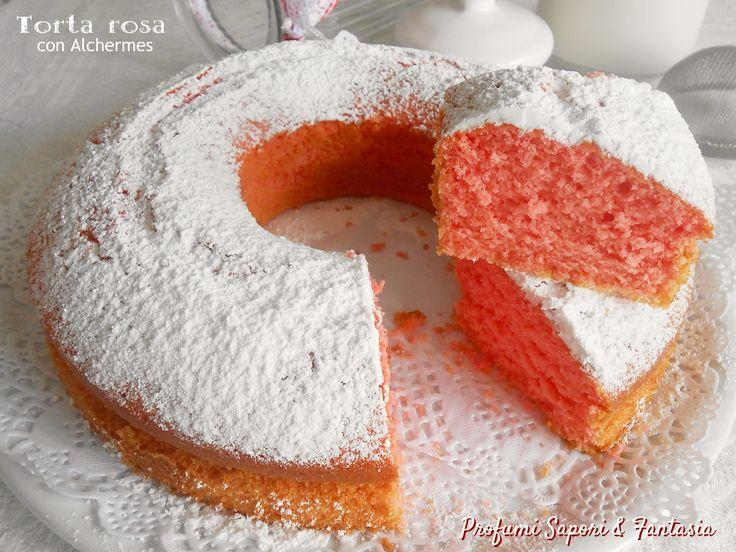 Torta rosa con Alchermes