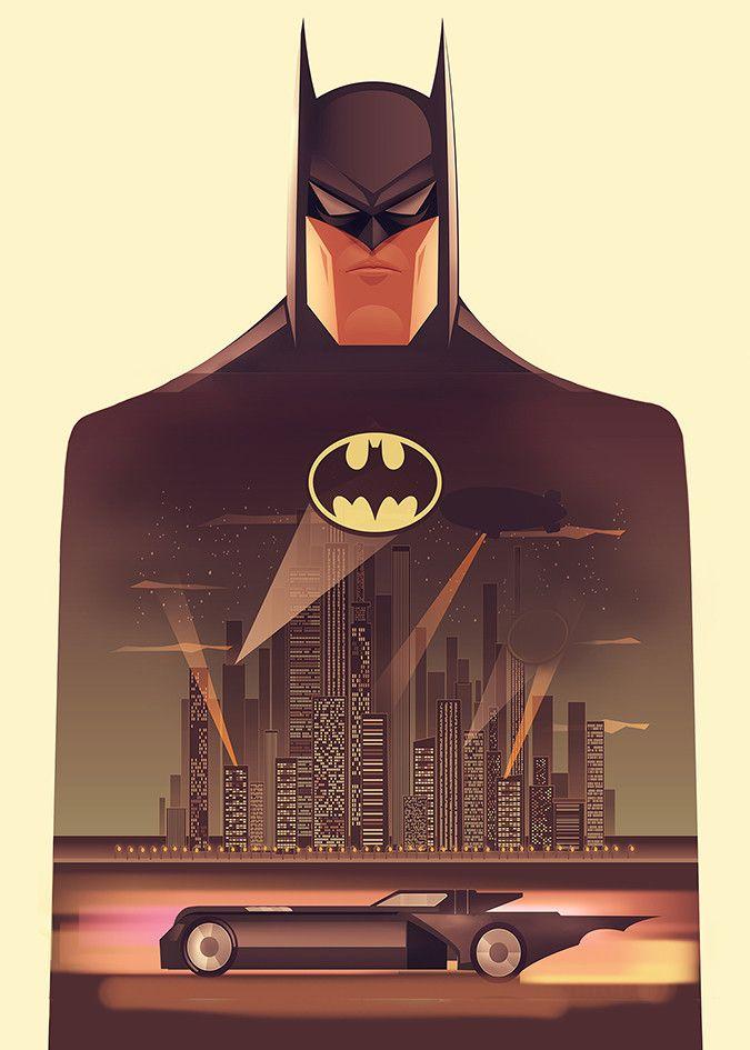 Batman The Animated Series by Cristhian Hova