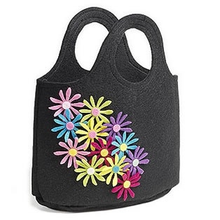 Cute felt bag using the Big Shot Sizzix machine