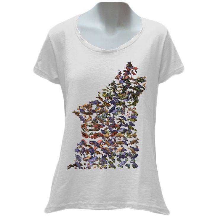 WolFish Ladies T-Shirt – WOLFISH WORKSHOP