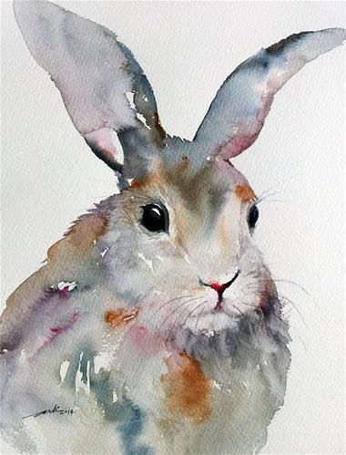 """Gray Rabbit"" by Arti Chauhan"
