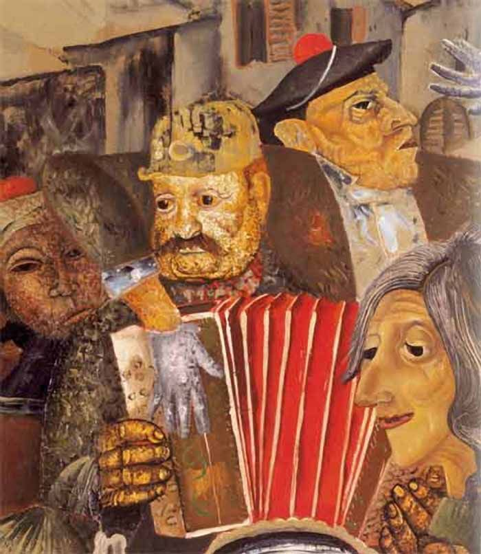 Boris Dmitriyevich Grigoriev (1886–1939) - Faces of the World