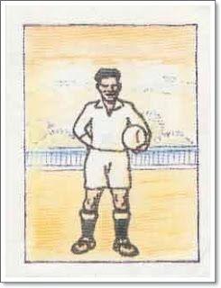 Leoncito . Real Madrid. 1931-32. Campeón de Liga. Medio centro.