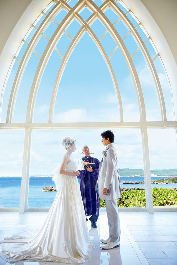 アクアルーチェ・チャペル   国内挙式   リゾートウェディング「リゾ婚」なら【ワタベウェディング】