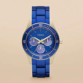 SAPPHIRE electric blue :: Blue Fossil Stella Watch