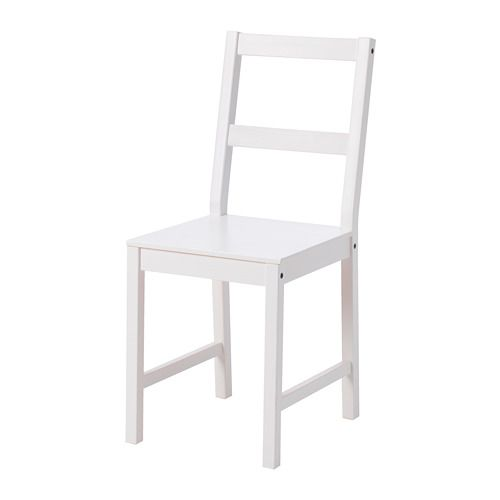 IKEA DANHULT Chair White Solid pine is a natural material which ages beautifully and gains its own unique character over time.