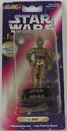 Star Wars Figurine Stamper C3PO Stamper @ niftywarehouse.com #NiftyWarehouse #Geek #Products #StarWars #Movies #Film