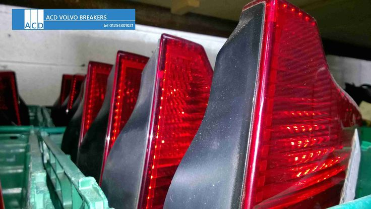 Volvo used parts Taillights ACD Volvo breakers ACD Volvo breakers stock thousands of parts for all late model Volvo's Call ACD Volvo breakers on 01254 301021
