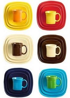 Rainbow of Square Fiesta® Dinnerware  sc 1 st  Pinterest & 146 best Fiesta® / Homer Laughlin China: Square Fiesta® images on ...