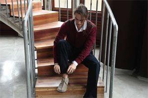 Long sleeve t shirt knit Daniel IDR 419.500,- , Long sleeve shirt Libertine White IDR 389.500,- & Pants denim Gaston IDR 689.500,-