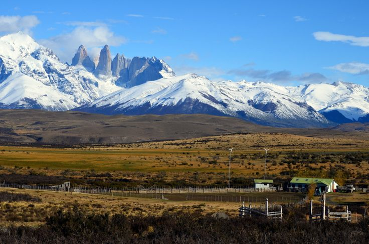 Stay the night at a real patagonian estancia near by Torres del Paine National Park