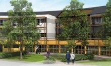 C'est à Bagneux-Saumur que le Groupe APlus Santé a décidé de bâtir l'ehpad Sainte-Anne. Il s'agit d'un programme immobilier en LMNP Bouvard avec un prix de départ à 133 000 € pour une rentabilité à 4,8 %. Sa livraison est prévue pour le 3ème trimestre 2015.