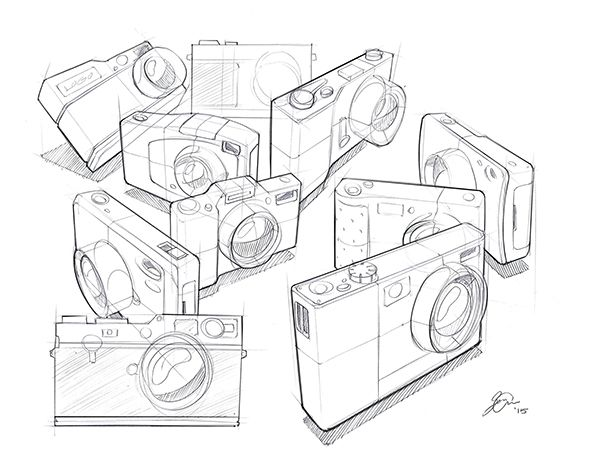 Assorted Sketches on Behance