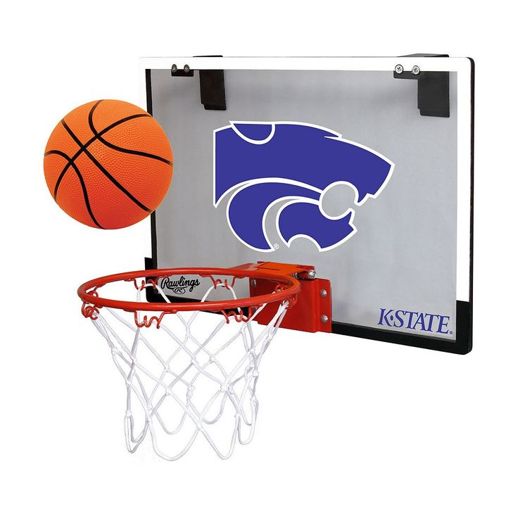 Kansas State Wildcats Game On Hoop Set, Multicolor