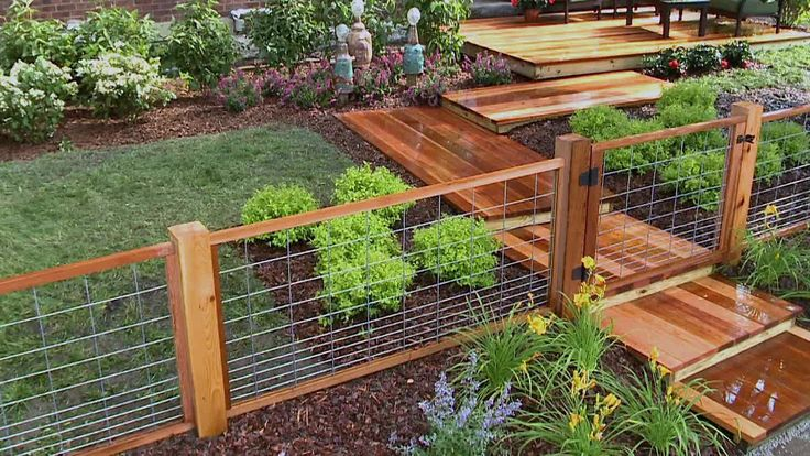 Wooden Garden Fence Home Depot: Best 25+ Welded Wire Fence Ideas On Pinterest
