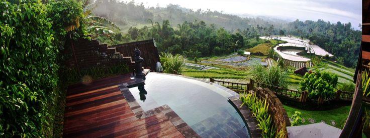 Sunrise Suite private pool  |  Village Above the Clouds- Desa Atas Awan. Eco-Boutique hotel Munduk Andong Kelod, Bali.