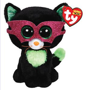 *Ty Beanie Boos*   Type: Cat Name: Jinxy Birthday: October 13th Introduced: July 2014 Retired: