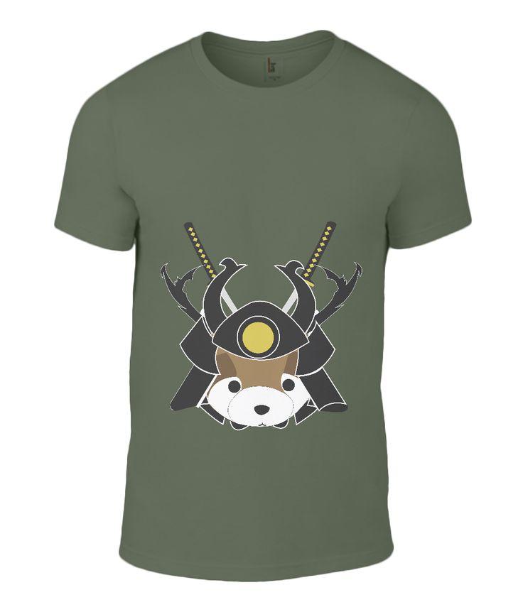 Tanuki Samurai t-shirt
