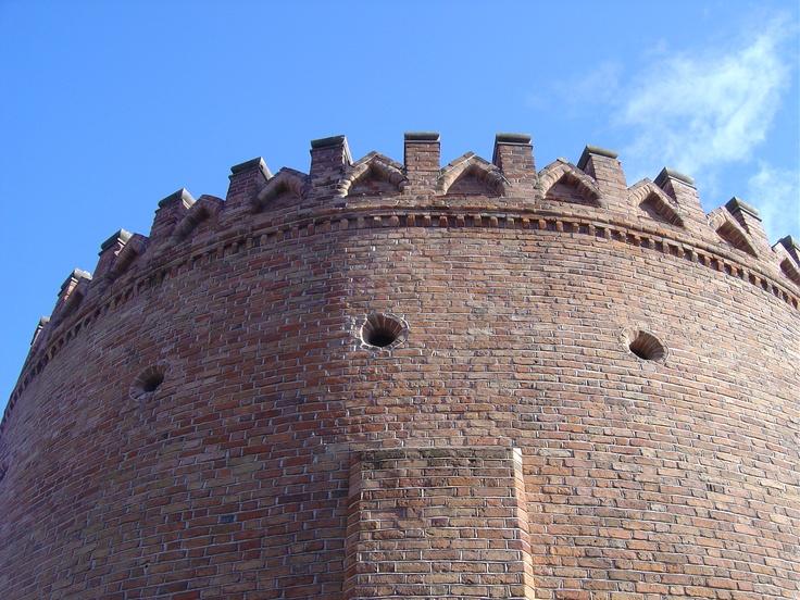 Warsaw old city wall