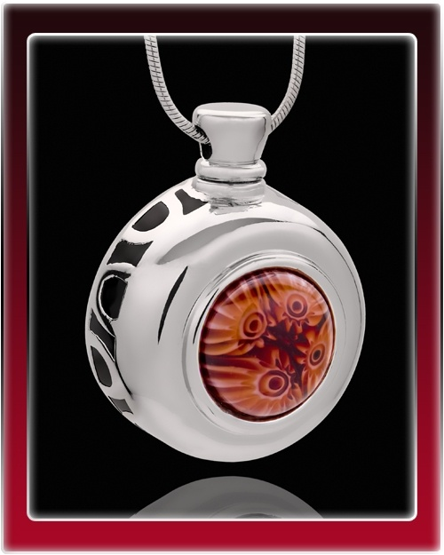 Fleeting Fancy Round Cremation Jewelry $24.99