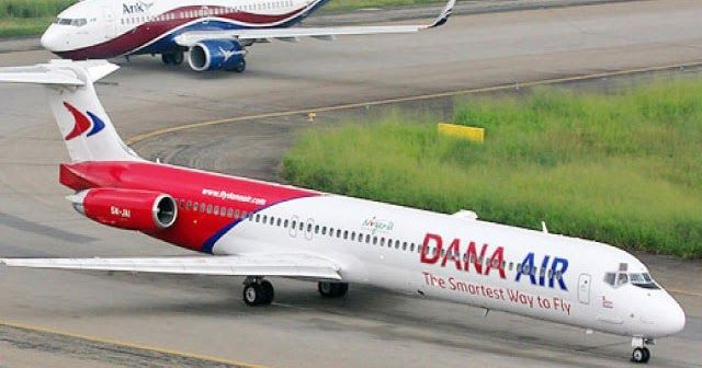 A Dana Air aircraft en-route Port Harcourt on Friday morning made an air return some minutes after take-off from the Murtala Muhammed Airport II Lagos.  The News Agency of Nigeria reports that the aircraft with registration number 5N-SRI returned after colliding with a bird mid-air.  Kingsley Ezenwa Communications Manager of the airline confirmed the incident in a statement.  Mr. Ezenwa said the captain took a professional decision by returning to the Lagos airport.  A bird strike is a…