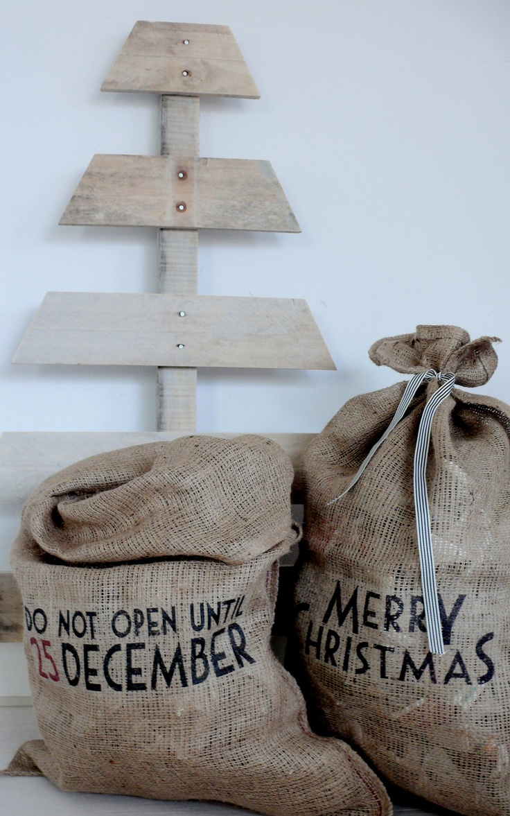 Meer dan 1000 ideeën over jute zakken op pinterest   koffiezakken ...
