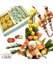 Browse Rakhi Store from online shopping portfolio & Buy Combos Online on Rakhi Festival 2014. Send your Rakhi Wishes with Combos at lowest price with free shipping. You will combos with different collection like flowers, rakhis ,sweets, cake,teddy and more. Express your love on this memorable occasion of raksha bandhan with amazing combos.