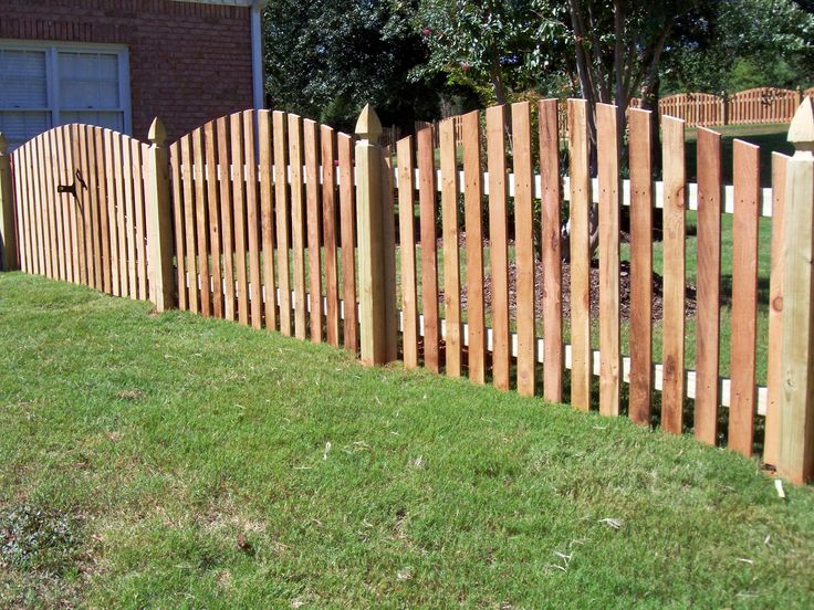 17 Best Images About Wood Fence Designs On Pinterest