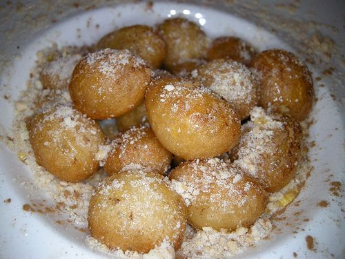 Lokoumathes (Cyprus Doughnuts with Honey Syrup)