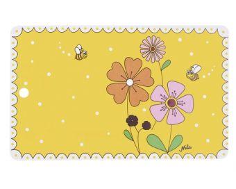 Frühstücksbrettchen Landblumen von Mila Design - Mein Mila Laden - Der Online-Shop