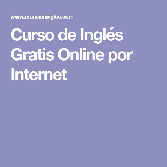 Curso de Inglés Gratis Online por Internet