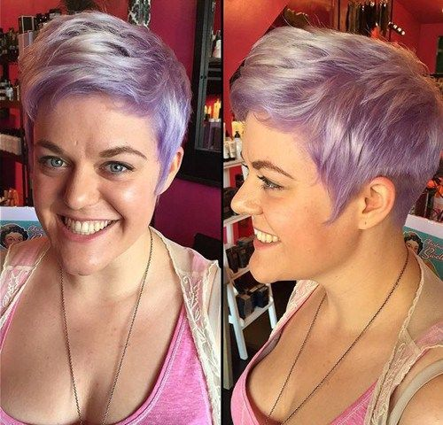 Purple roots with lighter outer pieces... !