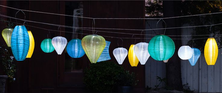 85 best images about SOJI SOLAR LANTERNS on Pinterest String lights, Silk and Real simple ...
