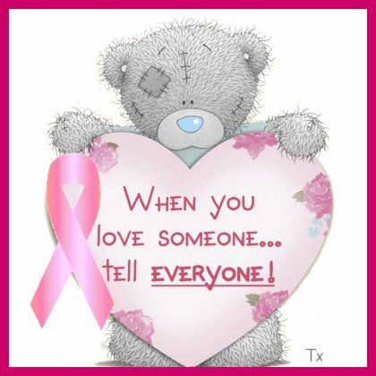 "Tatty Teddy ""When you love someone.....tell everyone!"""