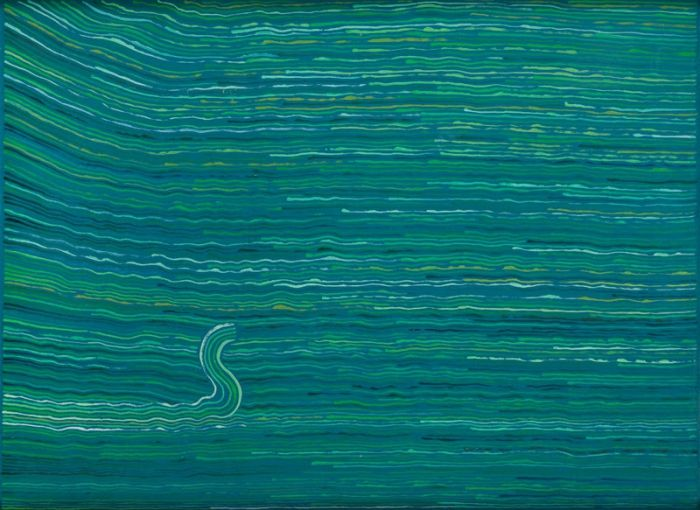 Jan Dobkowski - Kompozycja z literą S, 1983 r.