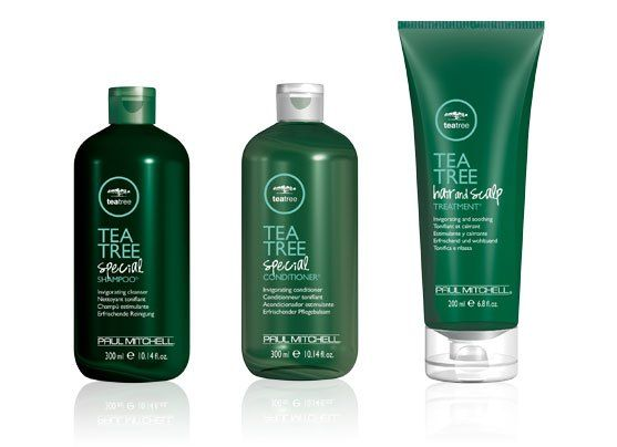 Paul Mitchell Tea Tree products for dandruff and dry scalp. Try a shampoo and conditioner that contains Tea Tree oil to help combat dandruff and dry scalp. Read the rest of the post for advice from a professional hairstylist.