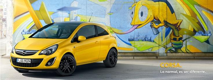 Opel Corsa 3 puertas.     Sube al nuevo Opel Corsa y disfruta de más diversión en cada trayecto. Déjate sorprender por su estilo, sus nuevos colores y la plena atención a los detalles, por dentro y por fuera. Su dinámico chasis y sus enérgico motor de gasolina se une a numerosas soluciones inteligentes.  El Nuevo Opel Corsa te asegura más diversión al volante dondequiera que vayas.