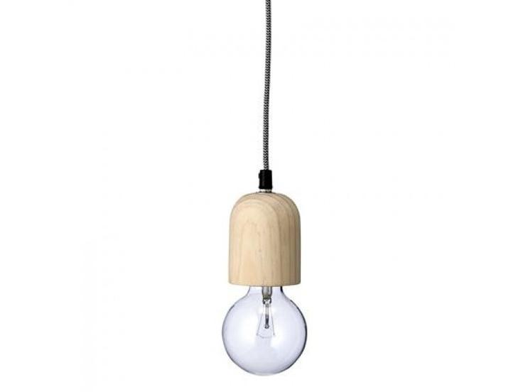 Bloomingville hanglamp hout
