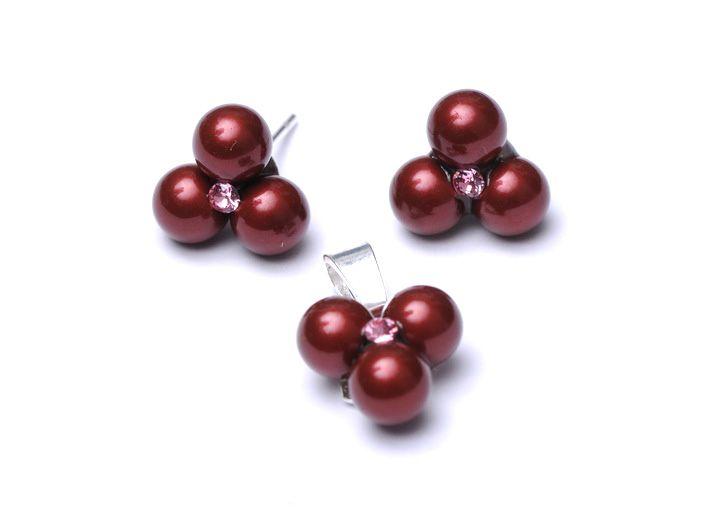 Serviciu de lipire pentru perle Swarovki pe tije din argint 925 pentru cercei și pandantiv #bijuterii #swarovski #swarovskicrystals #argint #simoshop #set #perle #swarovskipearls