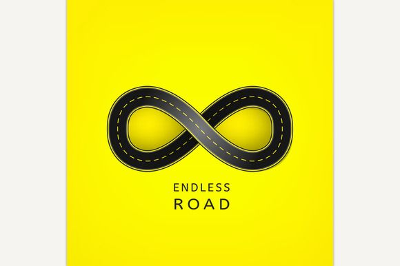 Endless Road by Double Brain on @creativemarket