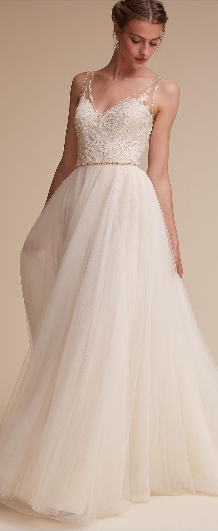 Ethereal wedding dress by BHLDN