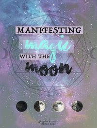 Manifesting Magic with the Moon - a new worksheet bundle for lunar inspired sacred self-care rituals #worksheets #newmoon #fullmoon #selfcareritual #newmoonritual #fullmoonritual #moonmagic #selfcare #sacredselfcare