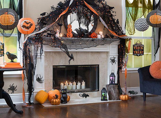 21 Stylish Living Room Halloween Decorations Ideas: Best 25+ Halloween Buffet Ideas On Pinterest
