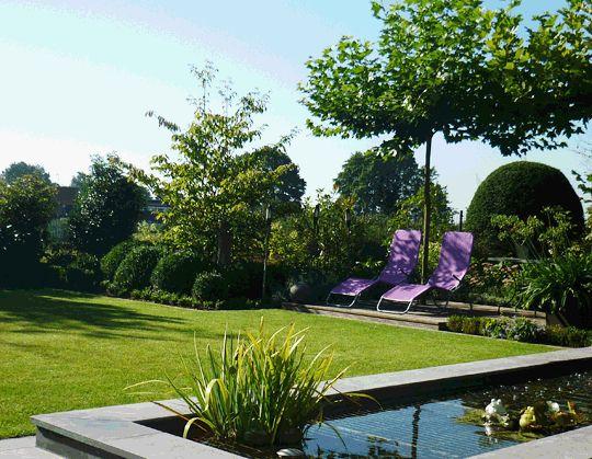 Wasserbecken - moderne Gartenarchitektur - Viersen - gartenplus - gartenarchitektur