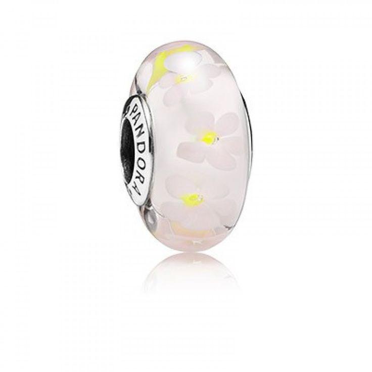 http://www.pandoraclearancedeals.com/pandora-beads-sale/pandora-field-of-daisies-murano-glass-charm.html