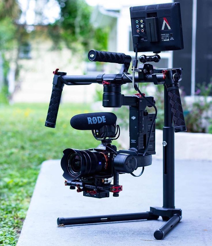 """What rigs do you use when you are shooting videos? """"Sony a7s with the @aputurephoto VS2 @rodemic on a @djiglobal RONIN  by: @mclaughlz #photographicblog #cinematography #videography #rodemic #djiglobal"""