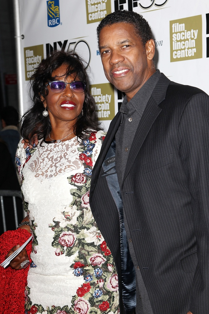 Denzel Washington and wife Paula.  I wanted to show some respect to Mrs. Washington.  I imagine it is not easy being Mrs. Denzel Washington.