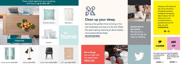 The Newest Email Design Trends of 2017 – Really Good Emails