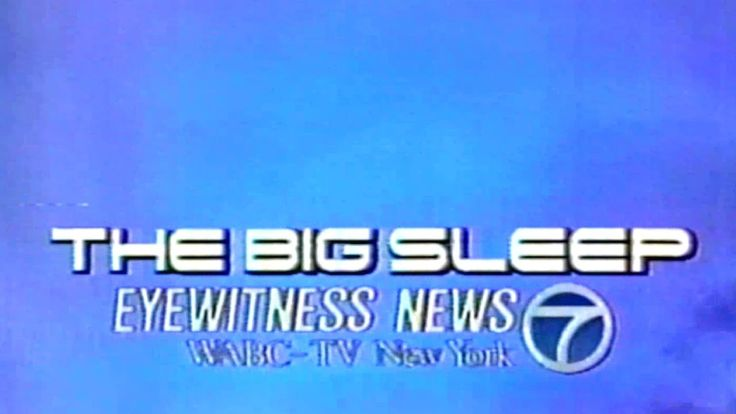 1989 - Promo - Cryogenics: The Big Sleep - Eyewitness News 7 WABC-TV New...